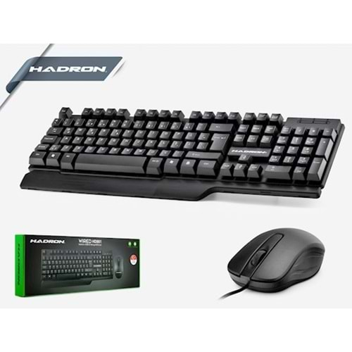 Hadron Hd861/20 Oyun Klavye Mouse Set
