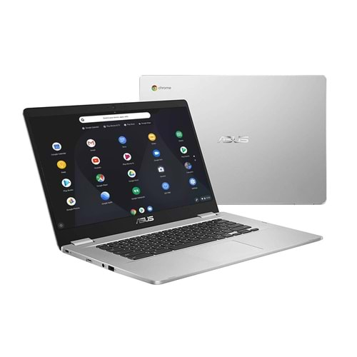 Asus C523N 15.6 Fho Intel Celeron N3350 4Gb Ram 32Gb-Sso Chromebook